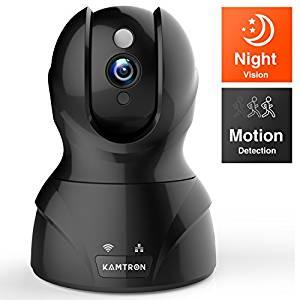 KAMTRON 720P -Überwachungskamera Test Platz 1