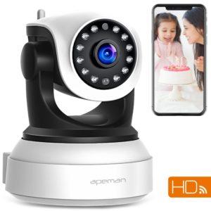 APEMAN 720P - Überwachungskamera Test Platz 2